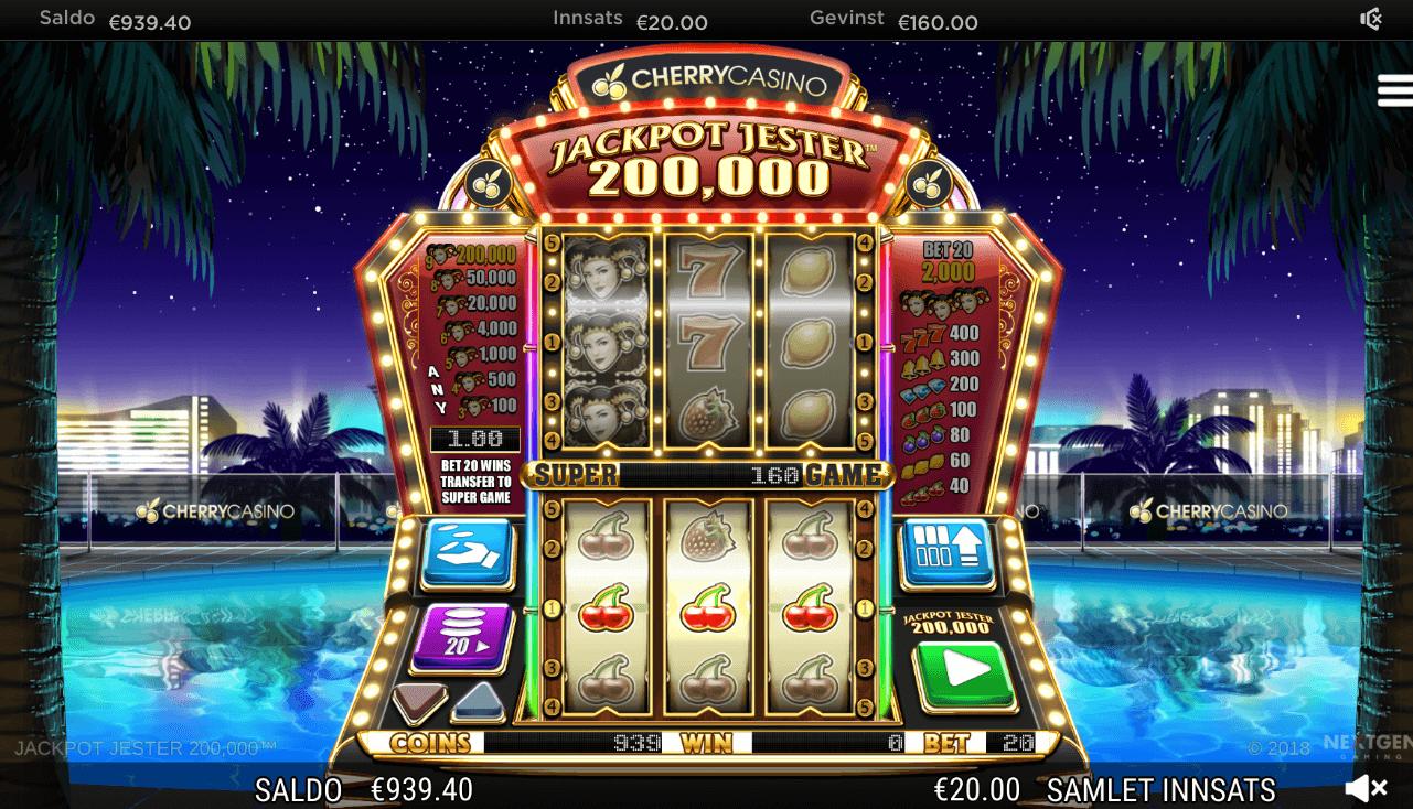 Jackpot Jester 200000 gratis spilleautomat