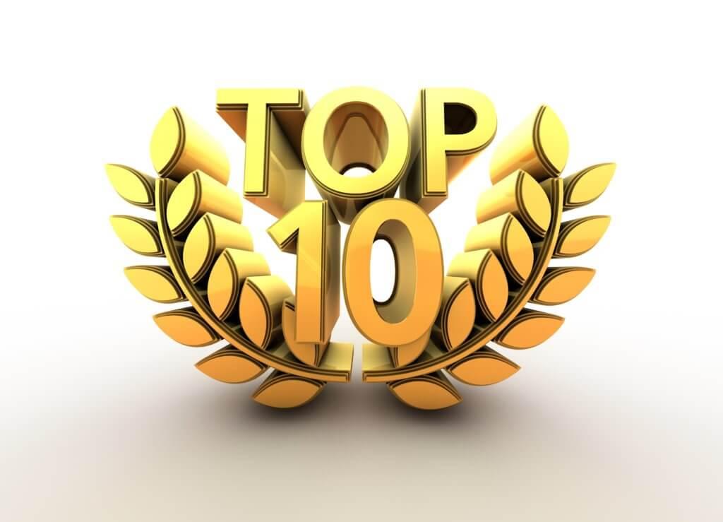Topp 10 spilleautomater: RTP - spillene du vinner mest på