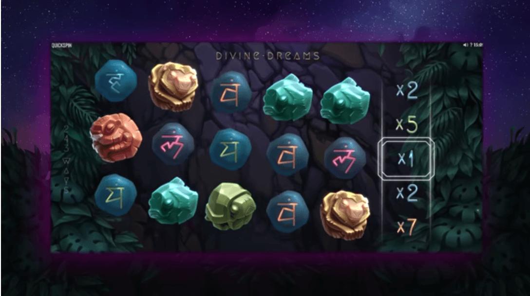 Divine Dreams ny spilleautomat 2019