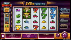 Joker Supreme spilleautomat