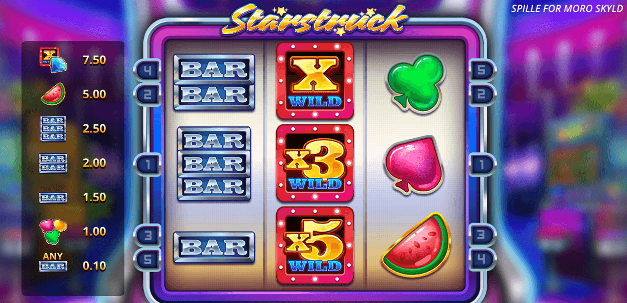 Starstruck spilleautomat