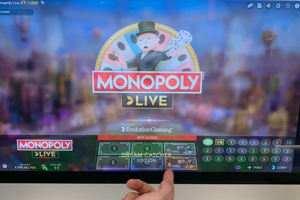 Monopoly Live fra Evolution Gaming