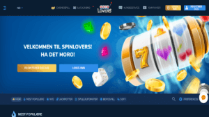 SpinLovers – nytt casino på nett 2019