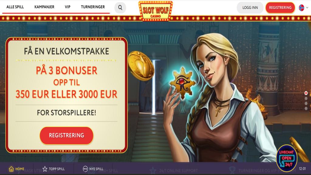 SlotWolf online casino