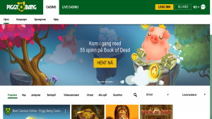 Piggy Bang casino på nett