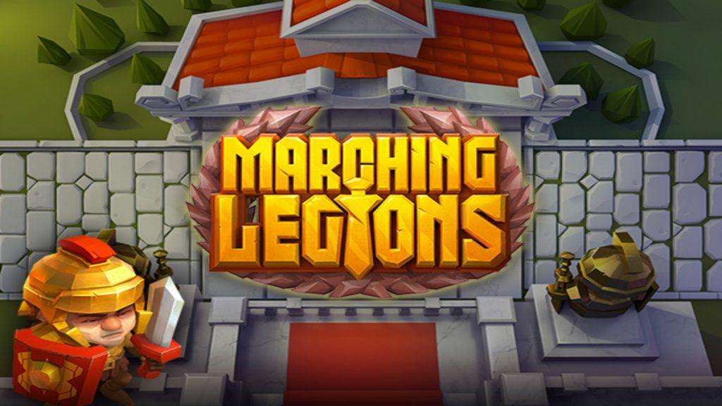 Marching Legions automaten rtp utbetalingsprosent tilbakebetalingsprosent